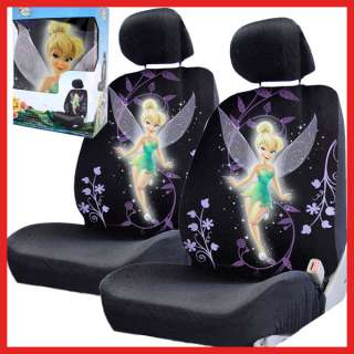 Tinkerbell Car Seat Cover Auto Accessories  Low Back Seat covers 2pc