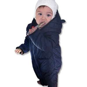 Classic Quilting Jacket Baby Boy Infant Clothing / OA 1051 Navy