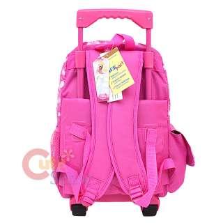 Disney Princess Tangled School Roller Backpack Rolling Bag 4