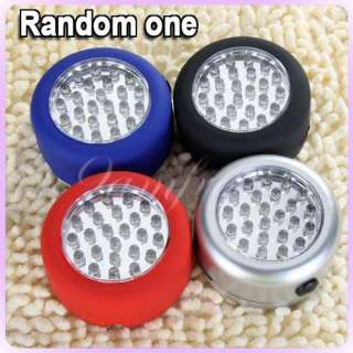 in 1 LED Bicycle Bike Camping Flash Light Keychain