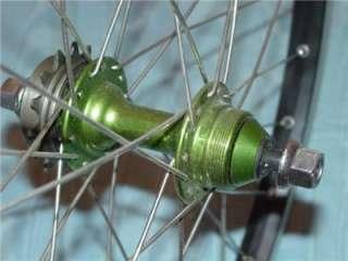 BMX Bike Wheel Set Sun Rims Sunrims CR18 Stainless Spokes 20
