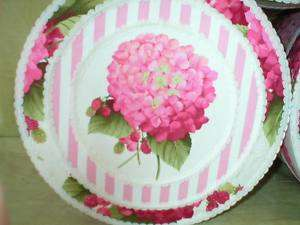 Fabric Covered Hat Boxes, Pink Hydrangeas,