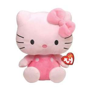 TY Beanie Babies Hello Kitty in Pink