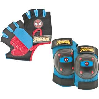 Bell Childs Bike Pad Set, Spider Man