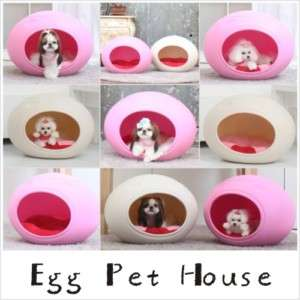 egg shape indoor pet dog cat house interior decoration
