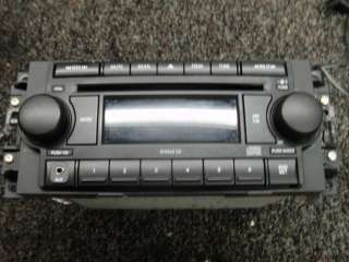 Chrysler DODGE JEEP Cd player RADIO Plays  AUX Jack 2005 2009