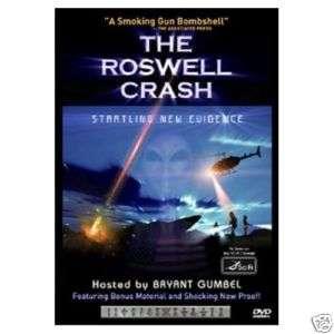 New DVD The Roswell Crash Startling New Evidence Sci Fi Alien UFO