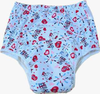 2101 ADULT BABY PLASTIC PANTS SISSY DIAPERS   Hello Kitty
