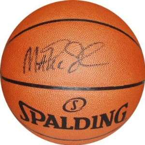 Magic Johnson Autographed Spalding Official Leather NBA Game