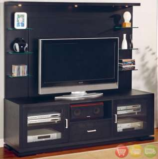 TV Stand Wall Unit Entertainment Center Media Storage