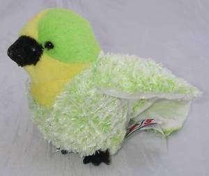Ganz Webkinz Lil Kinz BUDGIE Green/Yellow Bird No Code