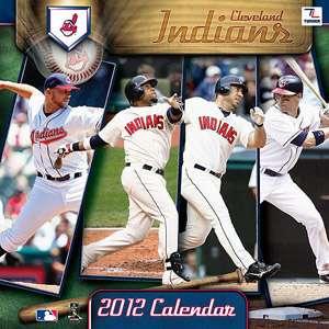 Cleveland Indians Team 2012 Wall Calendar, 12 x 12