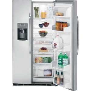 Energy Star Stainless Steel Side By Side Refrigerator with Dispenser