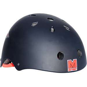 McTwist Winged Skull Black Certified Helmet Bikes
