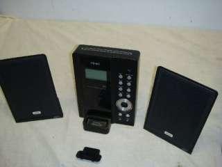 MC DX50i 2.1 ULTRA THIN HI FI CD/SPEAKER SYSTEM/IPOD DOCK