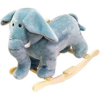 Walmar Happy rails Plush Rocking Animal, Elephan Bikes