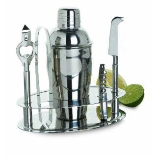 Amco Polished Stainless Steel Bar Tools Set