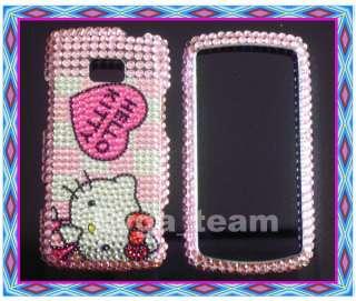 Hello kitty Bling Hard Case Cover For LG Ally VS740 H