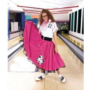 Outfit (Pink & White) Adult Halloween Costume (M/L)