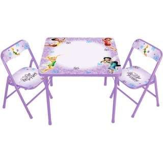 Disney Princess and the Frog Erasable Activity Table and Chair Set ...