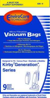 bags for Kirby Vacuums Generations, Sentria+ 1 Belt