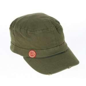 Jameson Irish Whiskey Military Cadet Style Cap Hat Green
