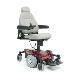 Pride Jazzy Select 6 Ultra Power Wheelchair   Red