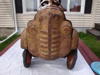 Vintage Pedal Car MURRAY Pressed Steel Old Toy Restoration Project