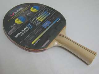 Butterfly Wakaba II Series Table Tennis Blade/Paddle