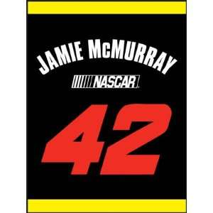 com Jamie McMurray Winners Circle Blanket/Throw 60x80   NASCAR NASCAR