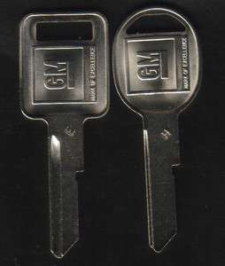Chevy 1977 1981 1991 92 93 1994 Pickup Truck Key blank