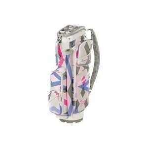 Nike Ladies Brassie II Golf Cart Bags   SwanWhite Argyle