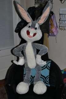 Bugs Bunny Giant Stuffed Animal Plush JUMBO 4 Foot 48 Looney Tunes