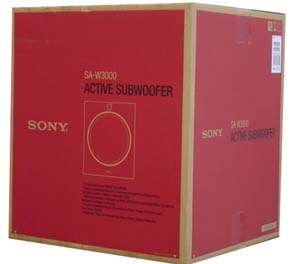 SA W3000 SONY 12 ACTIVE SUBWOOFER SAW3000 BRAND NEW!!