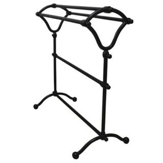 Accessories  Oil Rubbed Bronze Free Standing Towel Rack