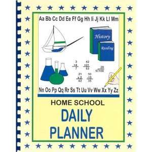 Home School Daily Planner (Single Student Version