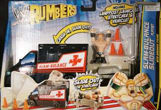 BULANCE SLIDEOUT PLAYSET   WWE RUMBLERS TOY WRESTLING FIGURE